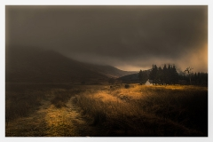 Landscapes - Pete Stevens - Glen Orchy  in Winter Light