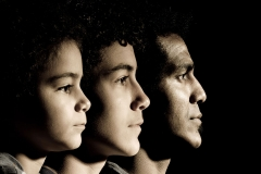 Father and Sons by Bryan O'Hara - Digital Splash Awards Portrait