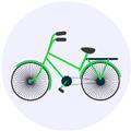 Bike icon Digital Splash
