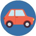 Car icon Digital Splash