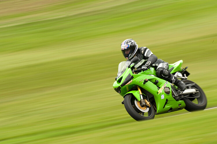 Motorbike action shot by Adam Duckworth